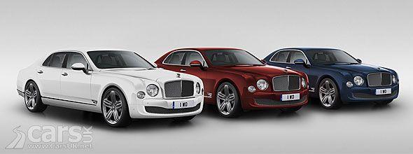 Bentley Mulsanne 95 Celebrates 95 Years Of Bentley Motors