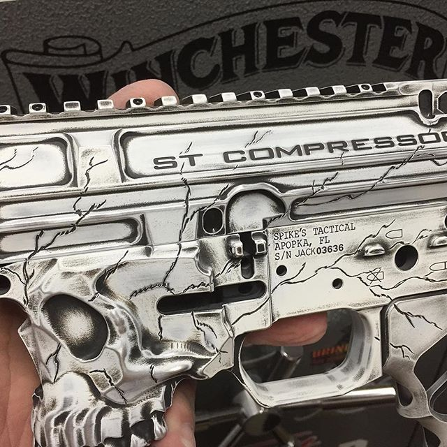 Great Close Up Of Our Grip And The Jack Lower From Oakcoatings