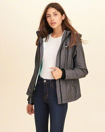 hollister fleece lined jacket