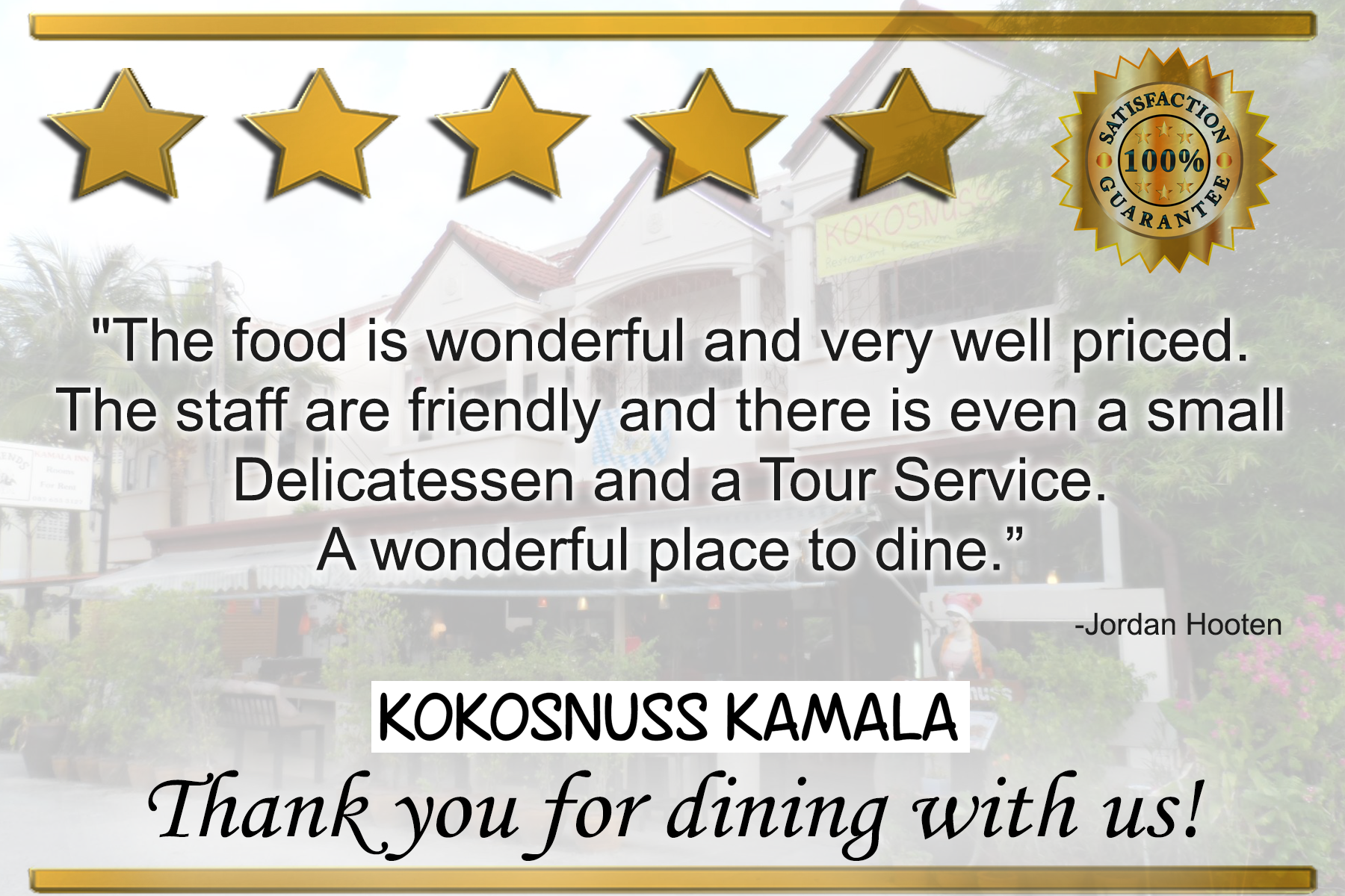 5 Star Review From Virginia Downton Beautiful Little German Restaurant In A Quiet Area Just Off The Main Drag The Foo Wonderful Places Friendly