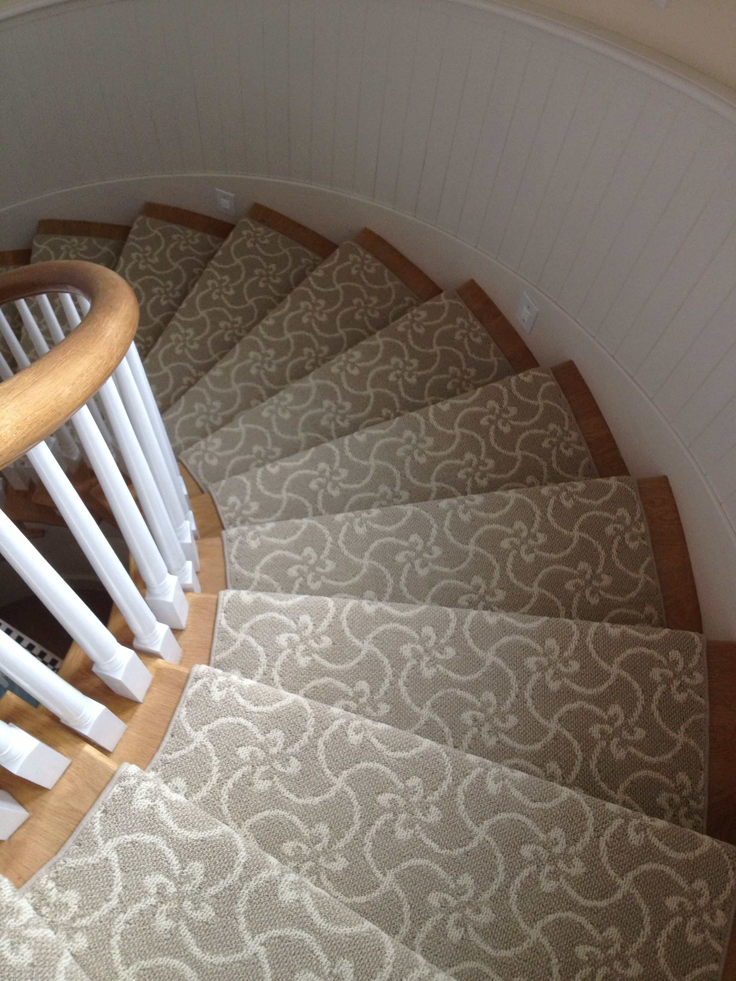 Masland Tangier Stair Runner Installed In A Home In Newport Beach - Carpet designs for home