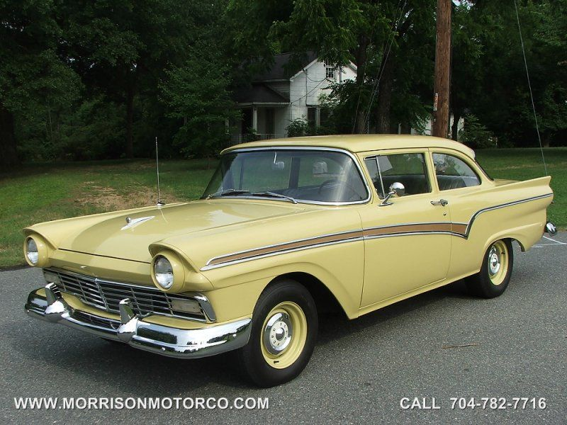 1957 Ford Custom 300 Tudor Sedan With Images Ford Classic Cars