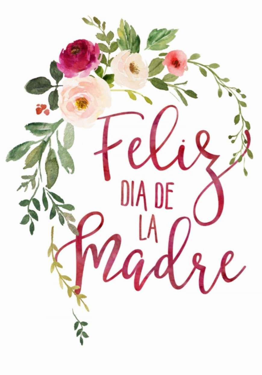 Feliz Dia De Las Madres Png And Feliz Dia De La Madre Flower Wreath Postcard Zazzle 16 Feliz Di Cartao Dia Da Mulher Frases De Artesanato Frases Especiais