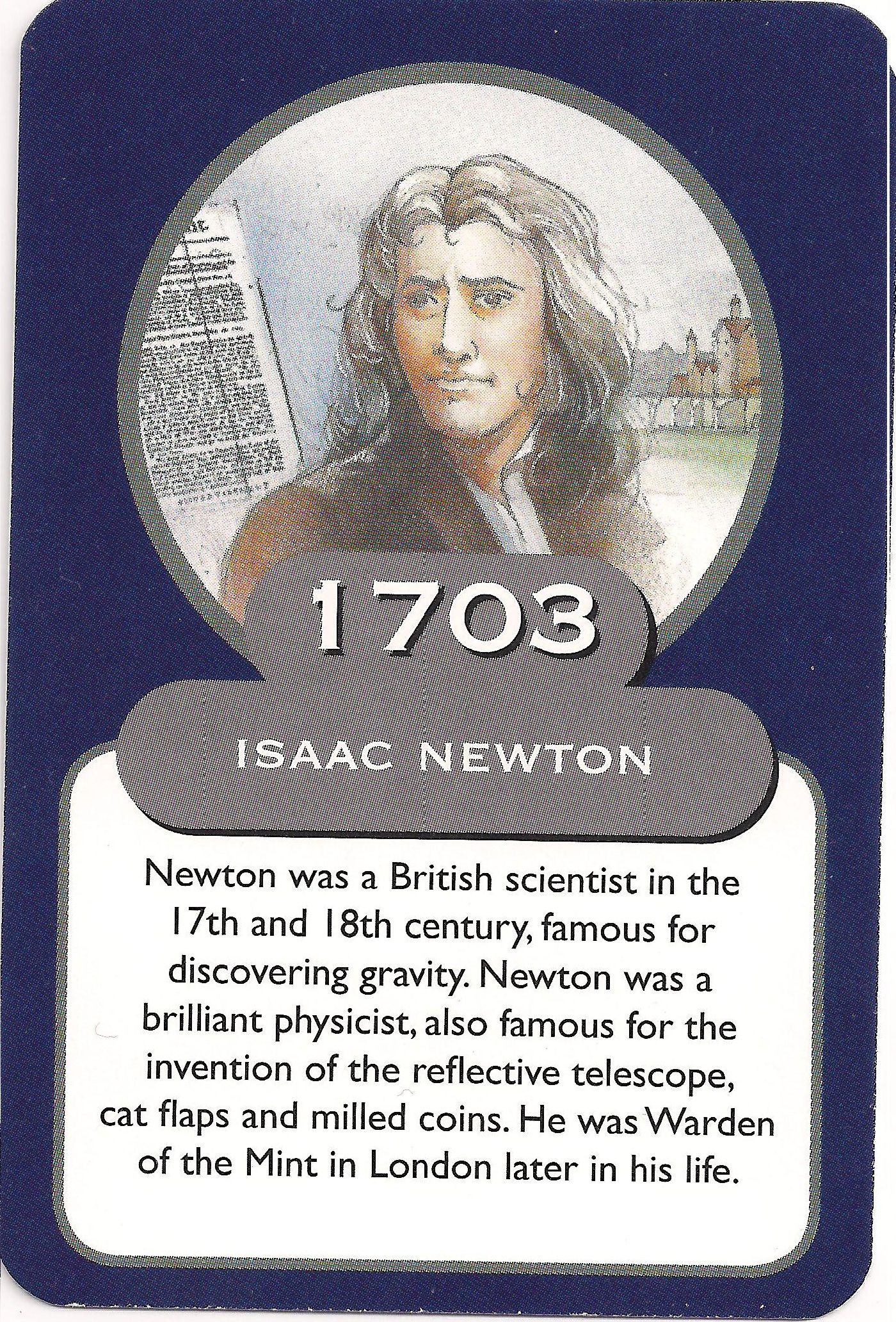 Isaac Newton and his great discoveries 80