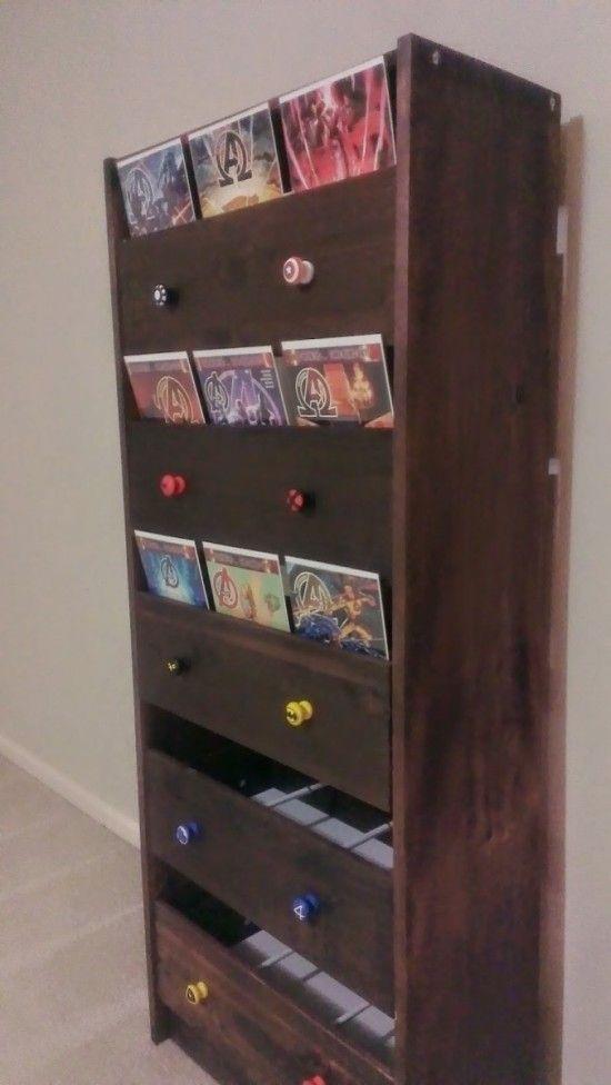 Comic Book Storage Solution Ikea Hackers Comic Book Storage