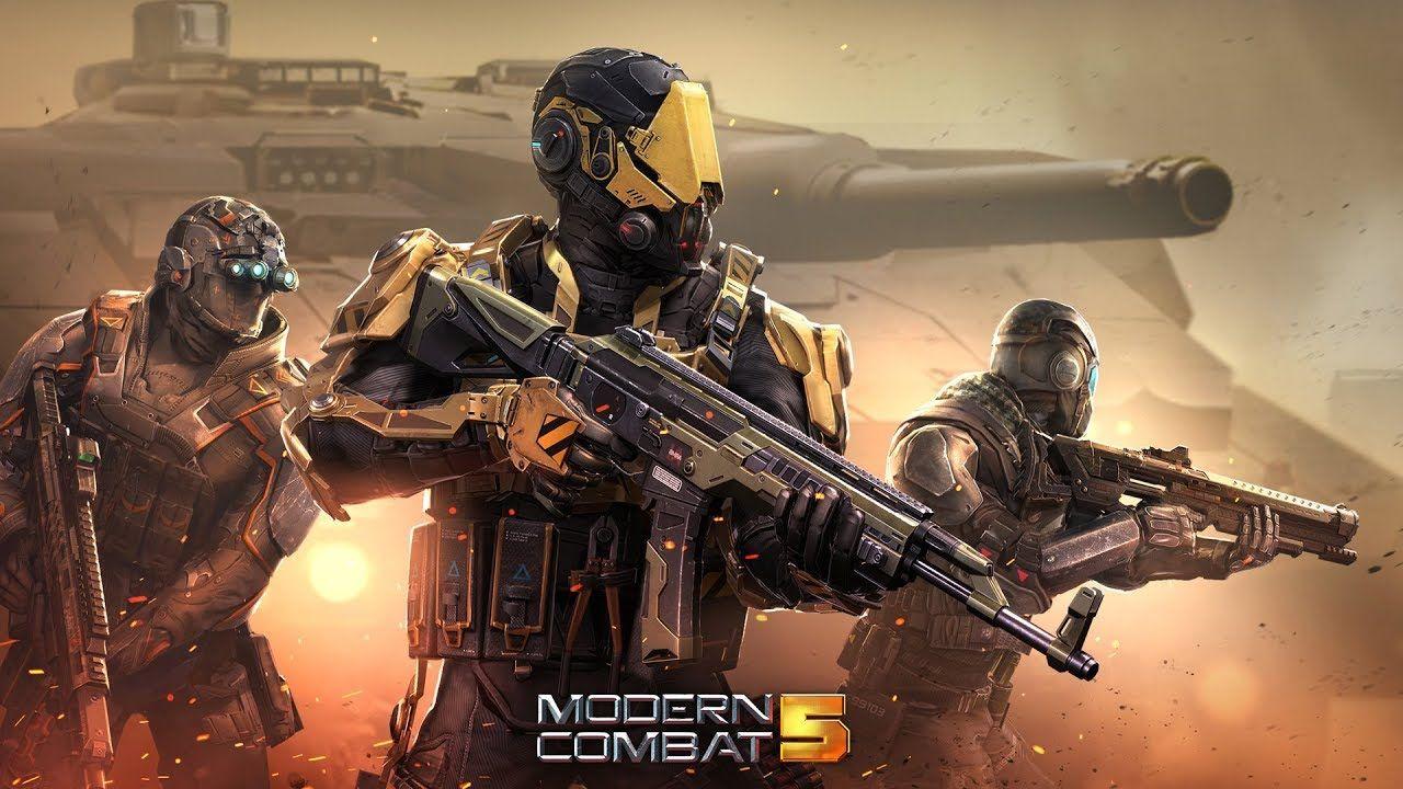 Modern Combat 5 MOD APK 4.2.2a (God Mode, Antiban