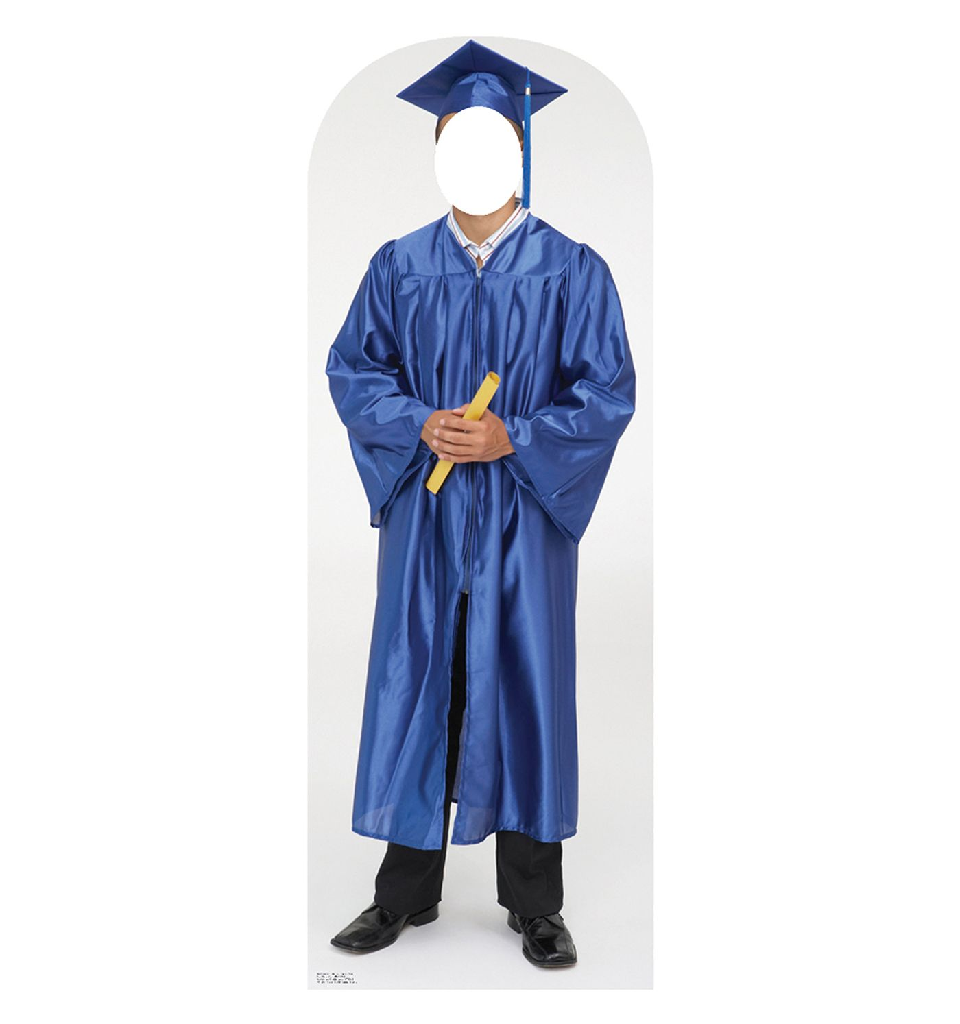 Male Graduate Blue Cap and Gown | Blue, Products and Cap and gown