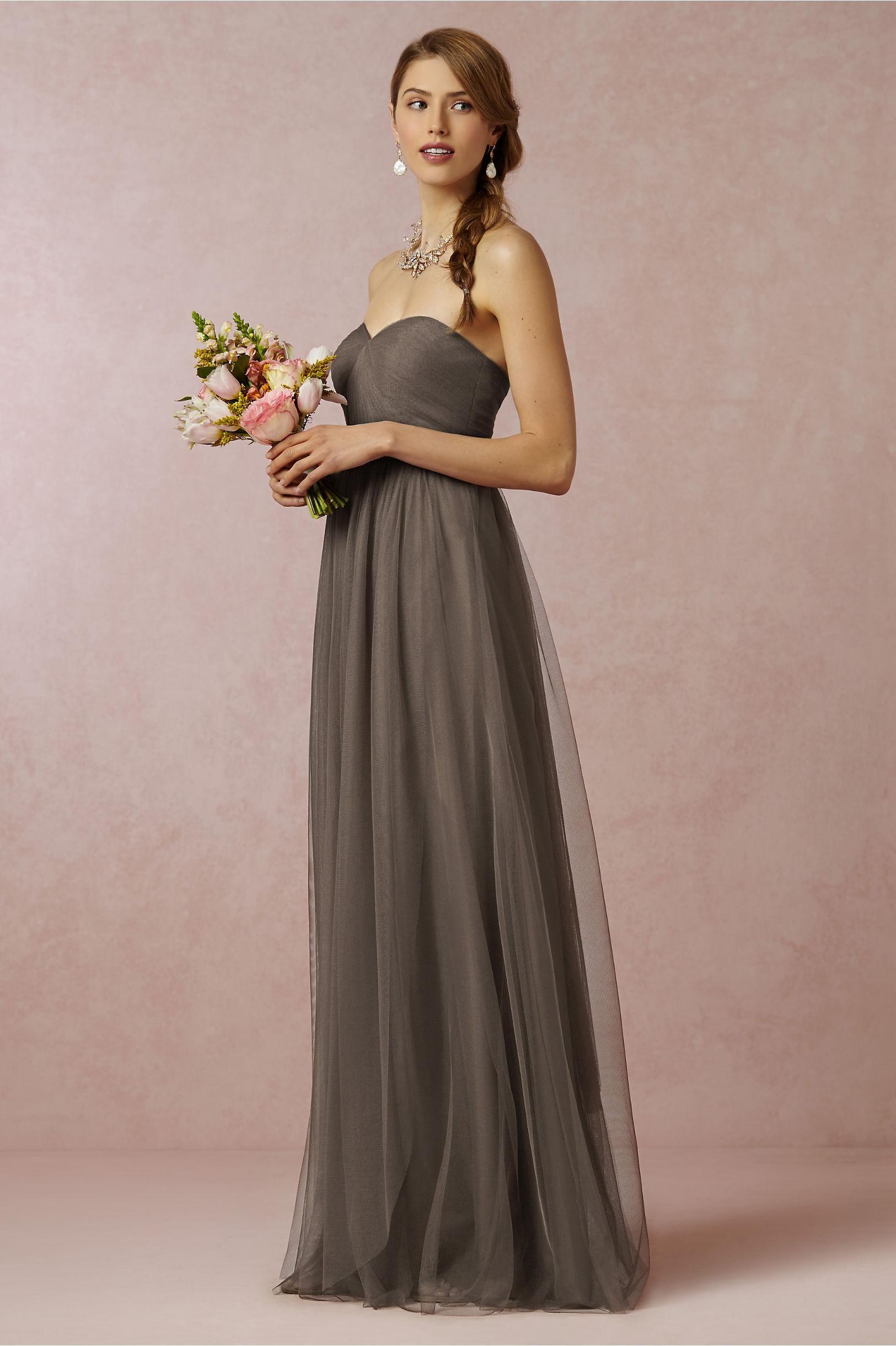 ace12415e6 Zipper A-line Floor-length Bridesmaid Dresses. Annabelle Bridesmaids Dress  from Jenny Yoo for BHLDN in warm mocha