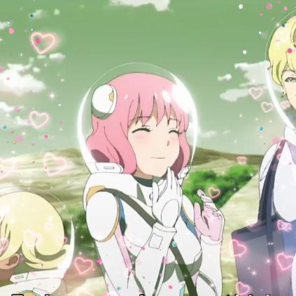 Kanata No Astra Review Space Anime Space Girl Art Anime