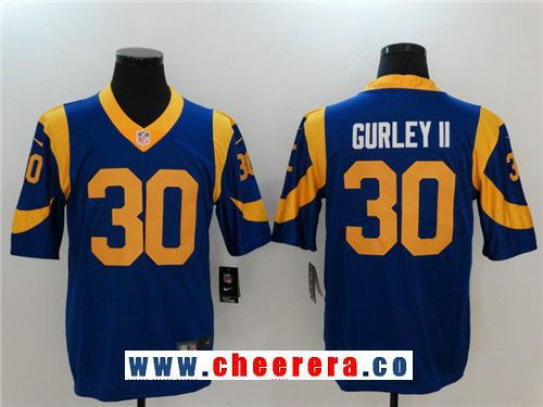 ... uk navy blue jersey nfl 30 home mens los angeles rams 30 todd gurley ii  royal ... 82b47f66c