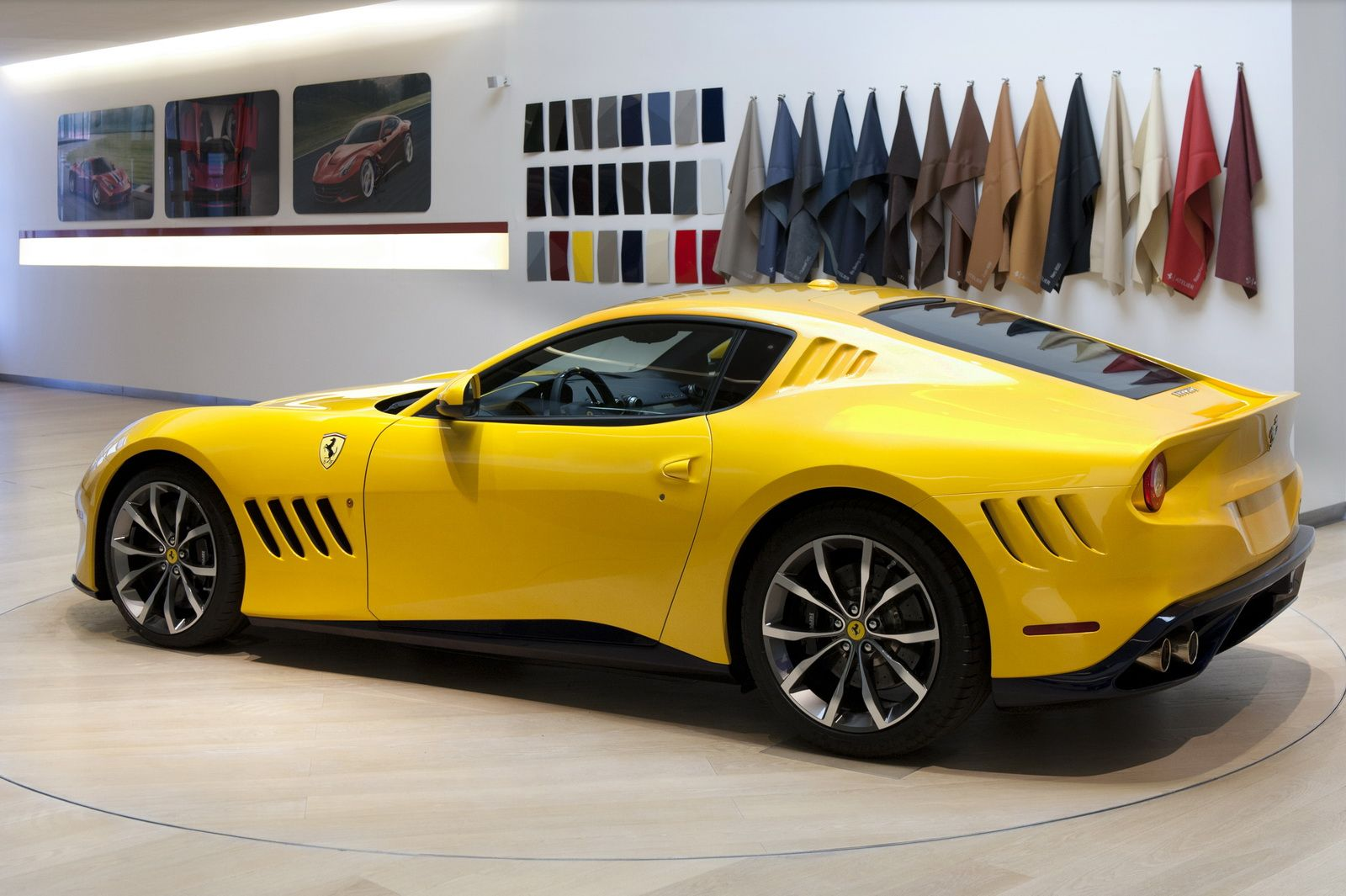 Ferrari Sp 275 Rw Competizione Officially Detailed Uses F12tdf S