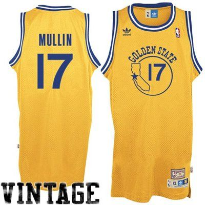 uk availability be6ad c74e5 adidas Chris Mullin Golden State Warriors Soul Swingman ...