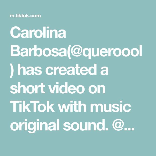 Carolina Barbosa(@queroool) has created a short video on TikTok with music original sound. @mein_rossmann favorites check #love #skincare #rossman #hair #beauty #tiktok