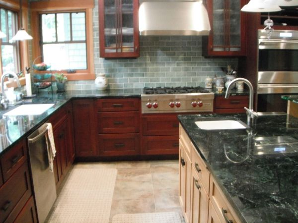 Mission Style Kitchen Tile Tile Backsplash For Craftsman Kitchen