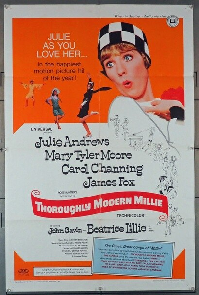 Thoroughly Modern Millie 1967 15549 In 2020 Julie Andrews Carol Channing Julie Andrews Movies