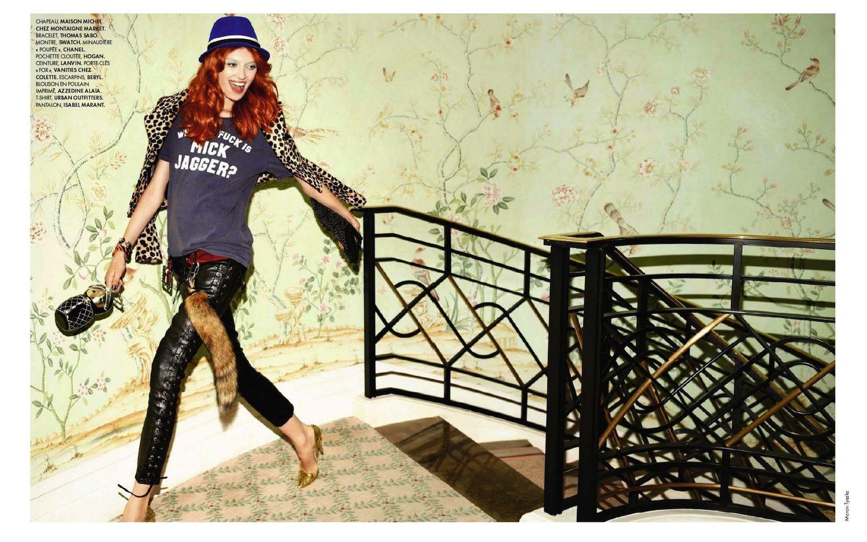 """Elle France September 2012, """"Overmix"""""""