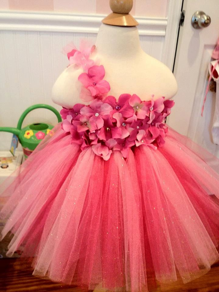 43909e9381a If Gracie wouldn t flip out wearing tull I d love to make her this for the  wedding