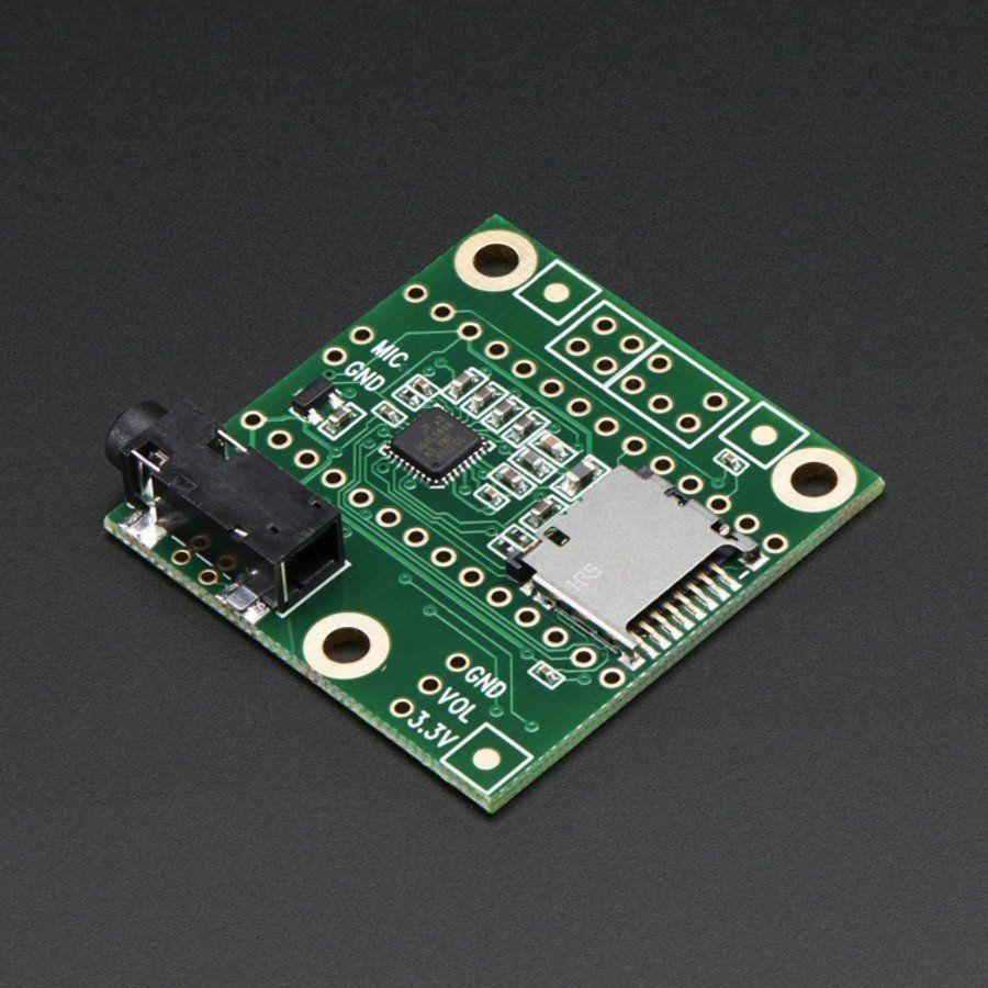 Audio Adaptor Board for Teensy 3.0 - 3.6 | Sounds | Pinterest | Audio