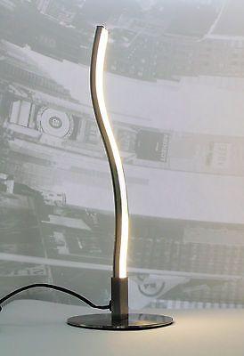 Design Led Tischlampe Wave Warm Weiss Nachttisch Lampe Bett Buro