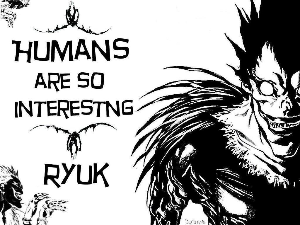 Ryuk Death Note L Death Note Shinigami
