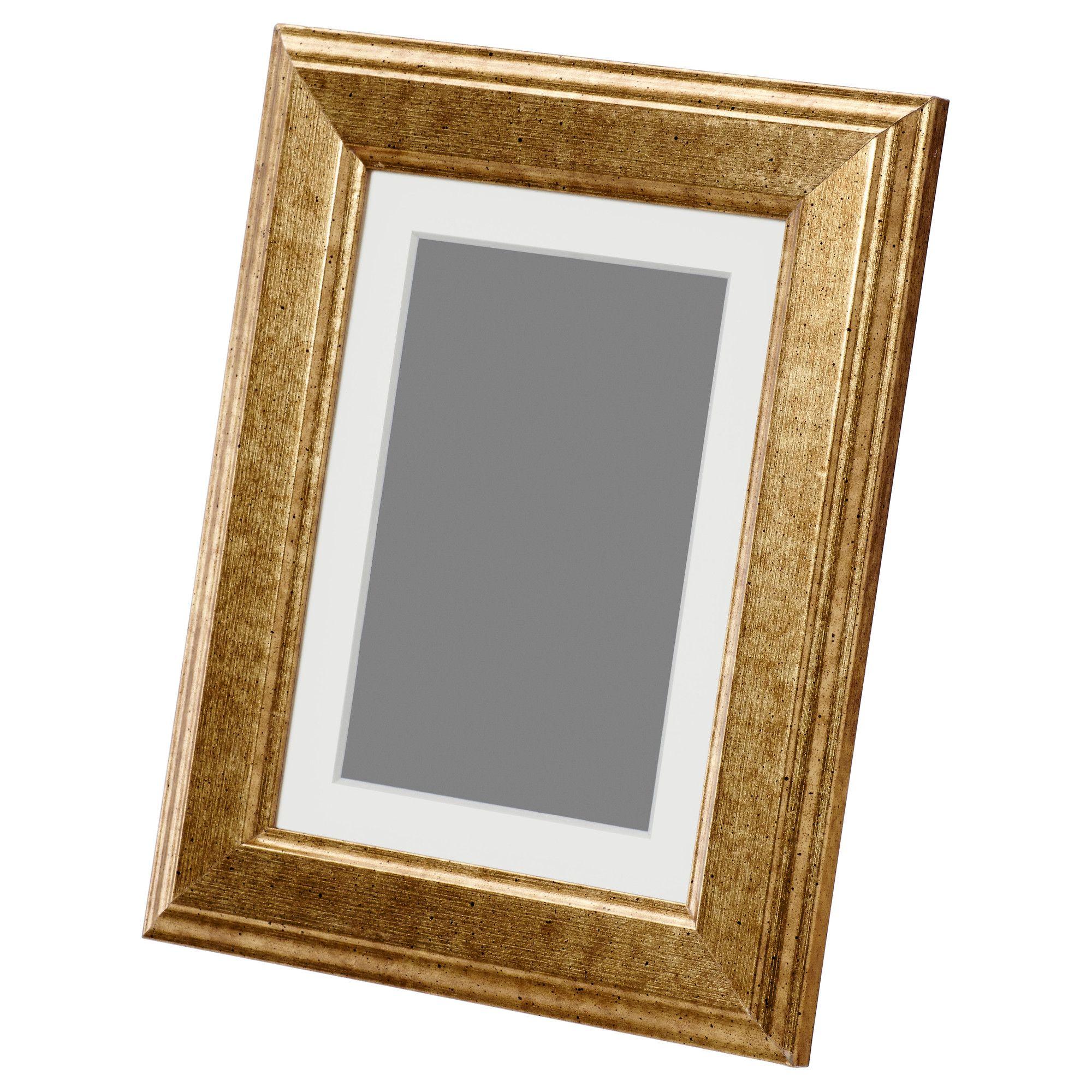 VIRSERUM, Rahmen, goldfarben Jetzt bestellen unter: https://moebel ...