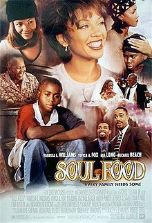 Soul Food is a 1997 American comedy-drama film- Soul Food is told through the eyes of 11-year-old Ahmad (Hammond), follows the trials of the Joseph family, a close-knit Chicago family that gets together to have Sunday dinner every week, with plenty of soul food to go around.