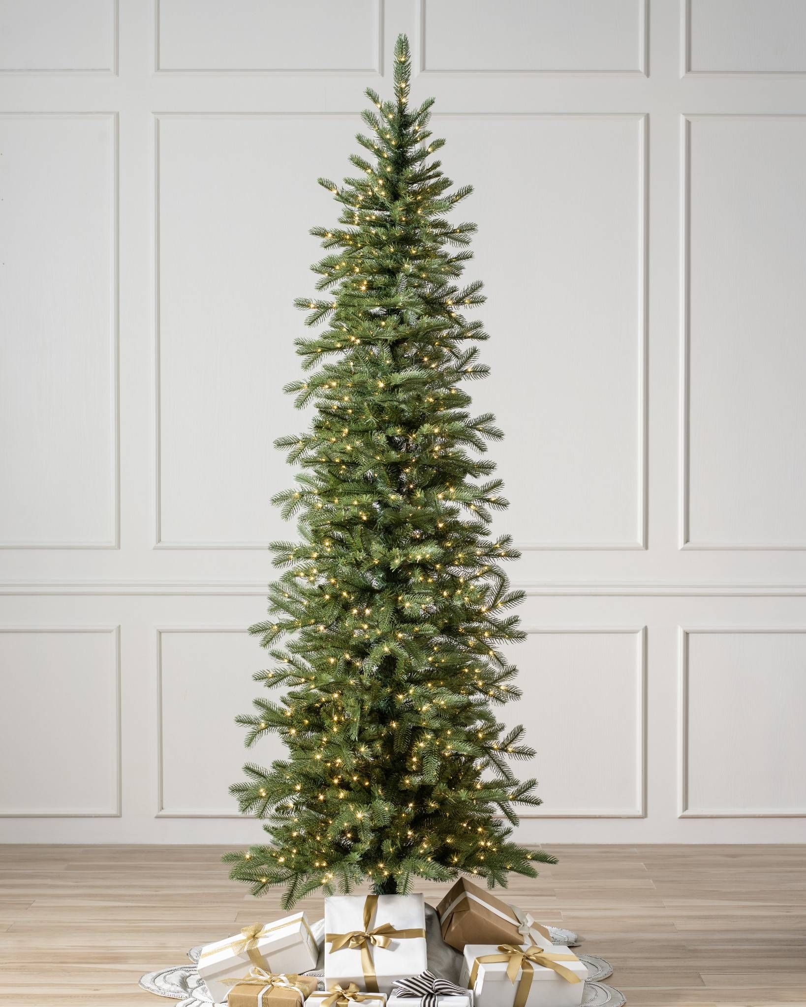 Cathedral Fir 8482 Tree Best Artificial Christmas Trees Slim
