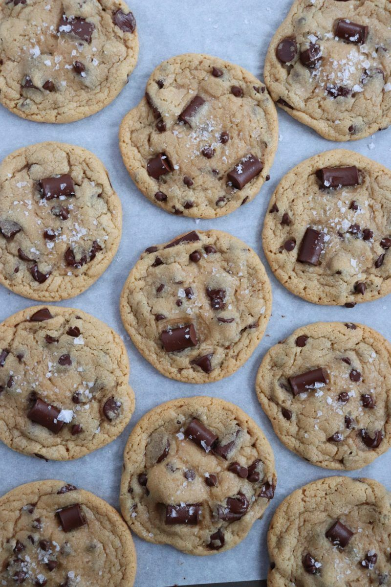 Vegan Cookie Roundup Six Vegan Sisters In 2020 Chocolate Chip Cookies Chocolate Chip Cookies Ingredients Triple Chocolate
