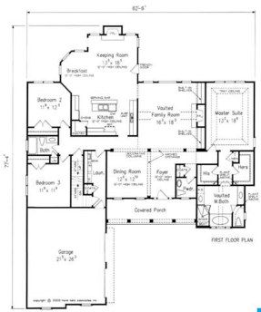 Great Floor Plan Lake House Plans New House Plans House Plans