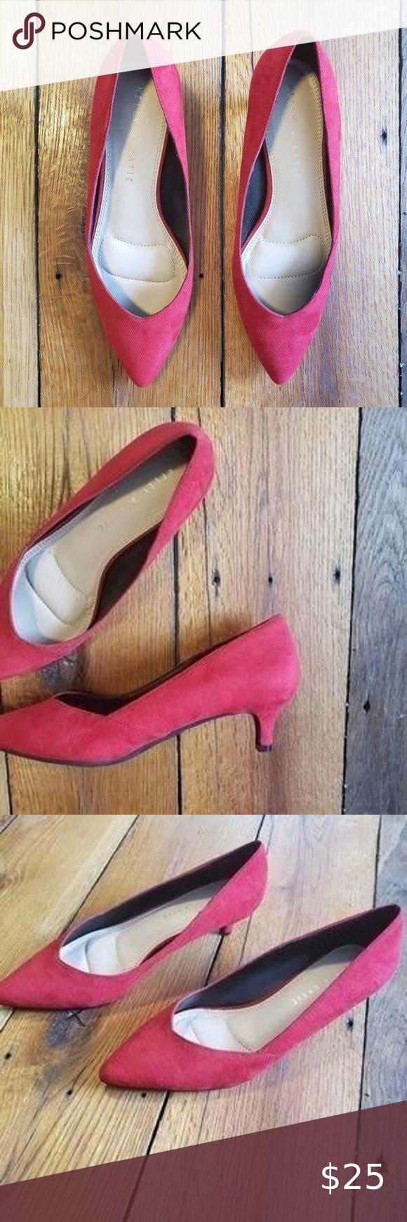 Nwot Kelly Katie Elannah Kitten Heel In 2020 Kelly Katie Shoes Women Heels Kitten Heels