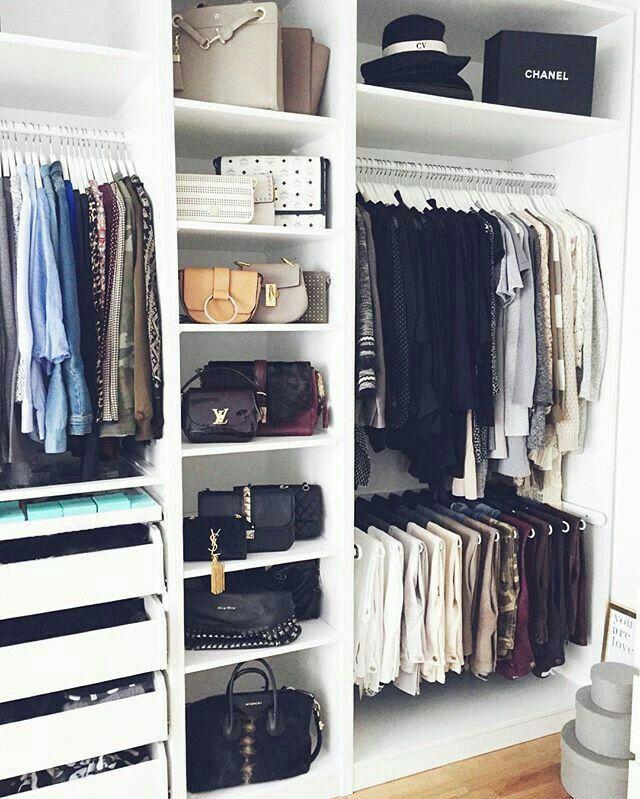Organización Designer Handbags Pinterest Wardrobes, Bedrooms - begehbarer kleiderschrank modular system