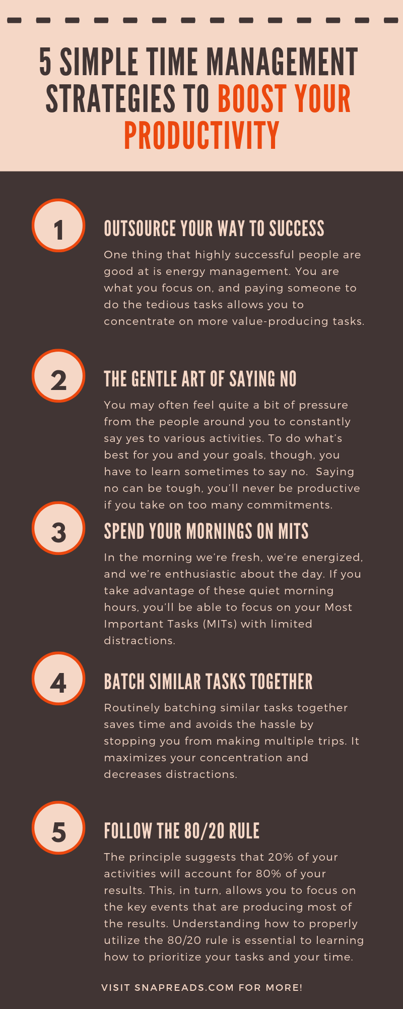5 Simple Time Management Strategies To Boost Your Productivity