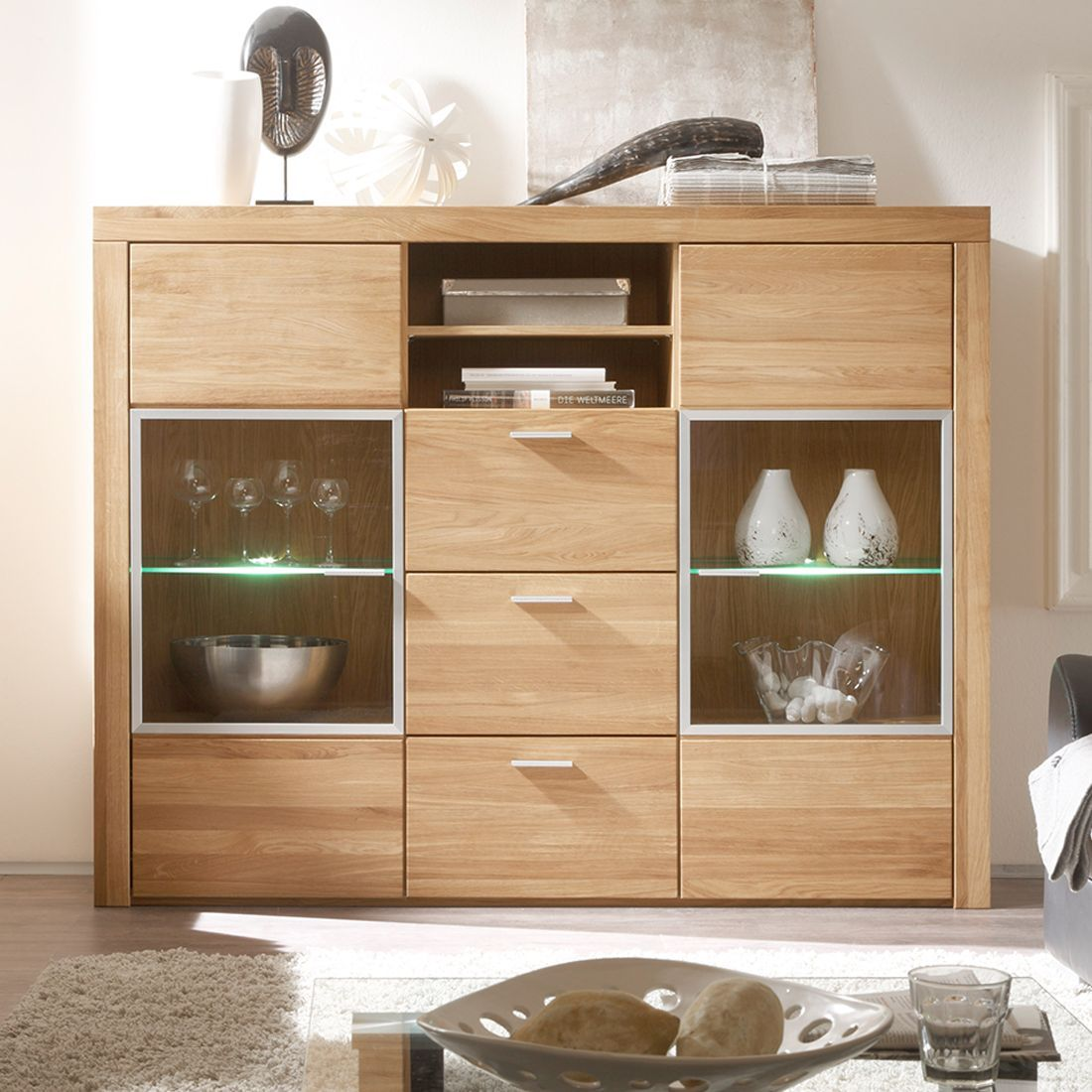 highboard eiche teilmassiv woody 19 00559 holz modern jetzt bestellen unter https moebel. Black Bedroom Furniture Sets. Home Design Ideas