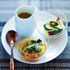 Bouillon de santé gourmand selon Sylvestre Wahid