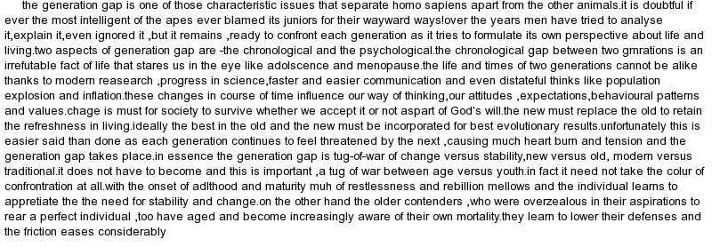 Essay About Gap Between Generation - Submission specialist Good - letter of intent example