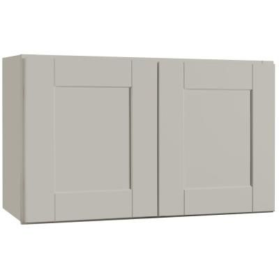 Best Shaker Wall Cabinets In Dove Gray Today At The Home Depot 640 x 480