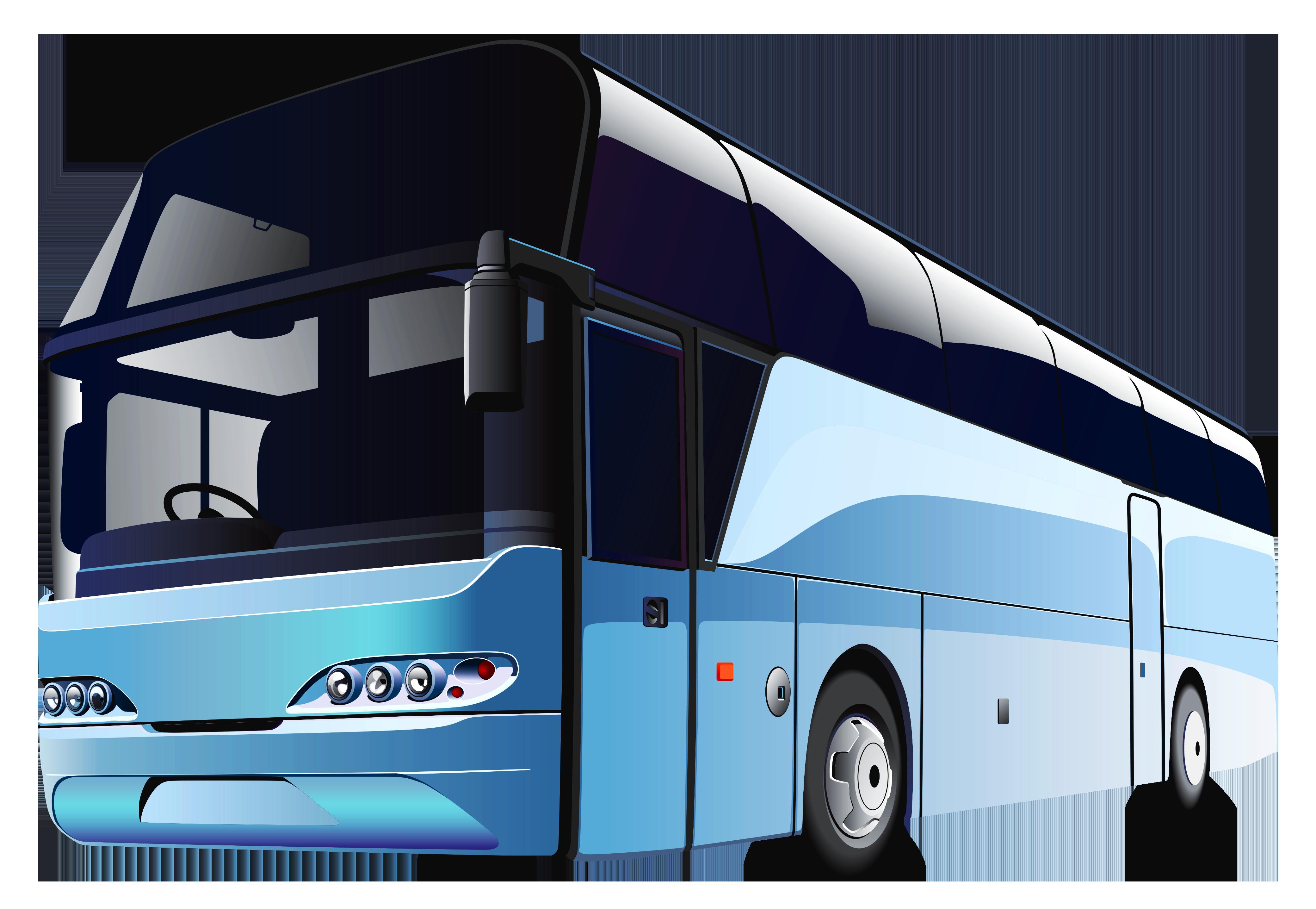 Blue Bus Png Clipart Blue Bus Art Transportation Bus