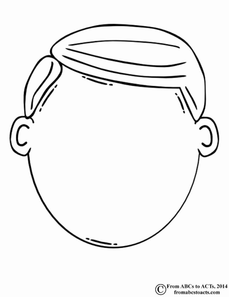28 Blank Face Coloring Page In 2020 All About Me Preschool