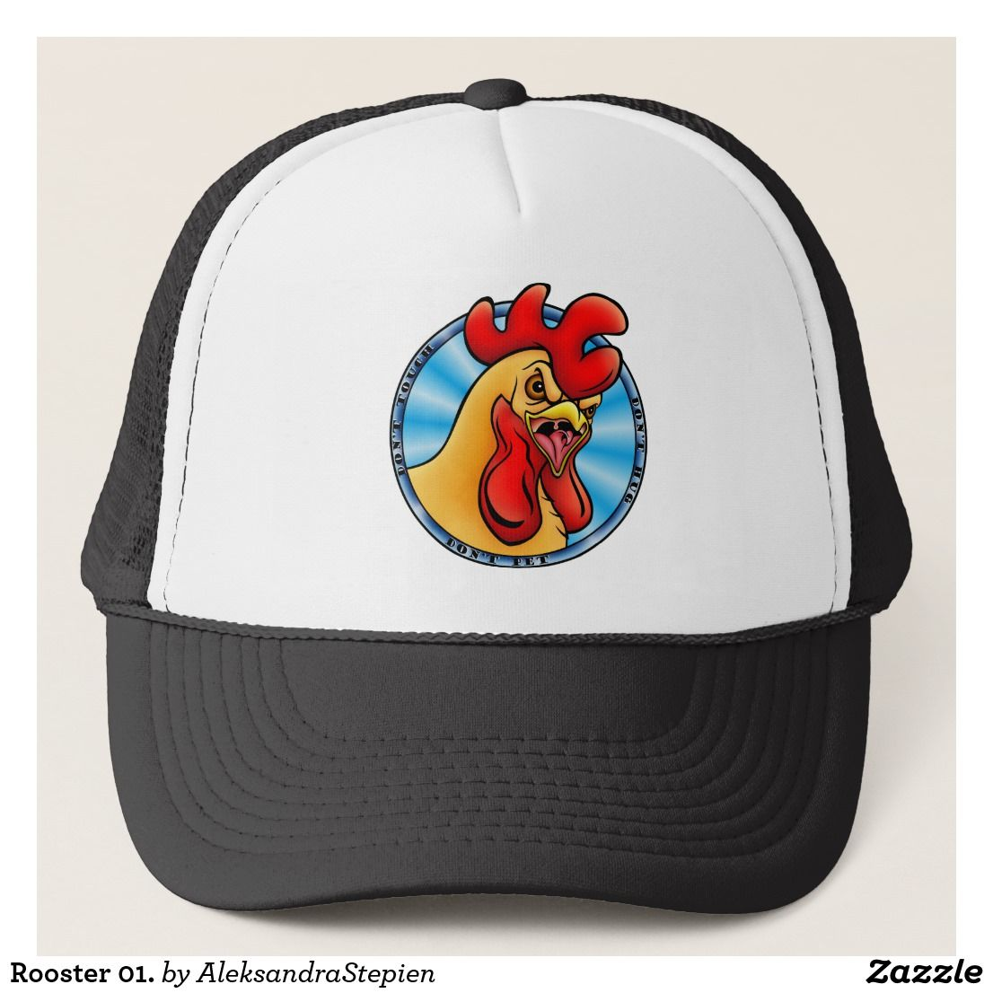 Photo of Rooster 01. trucker hat | Zazzle.com