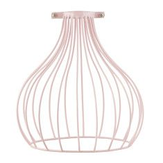 GE wire lampshade & bulb