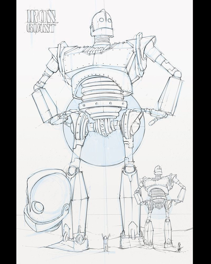 Artstation Iron Giant Vital System Cross Section Shane Molina