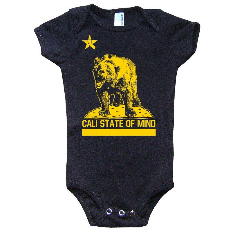 California Republic Baby Onesie American Apparel By Obsceneprints 15 00 Baby Onesies Hip Babies Onesies