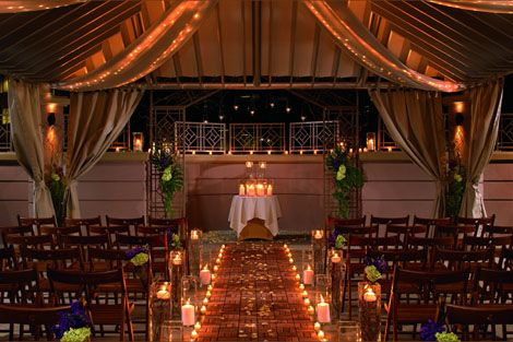 Wedding At The Ritz Carlton Decorations Location