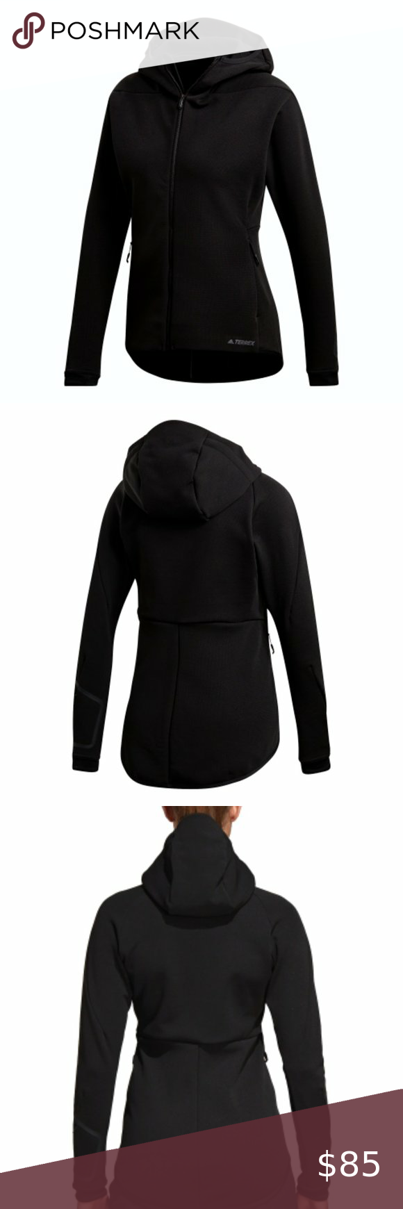 Predownload: Sold Adidas Women Terrex Climaheat Hooded Fleece Adidas Women Fleece Jacket Womens Jackets For Women [ 1740 x 580 Pixel ]