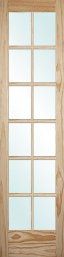 8 0 Tall 12 Lite Pine Interior Wood Door Slab 230 Wood Doors Interior Cheap Interior Doors Wood Doors