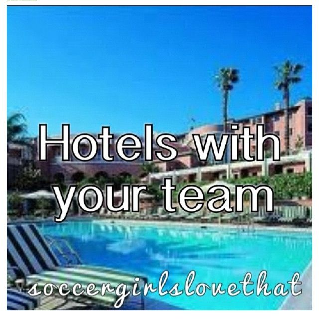 Hotels with your team! <3 we immediately become the most annoying people on Earth...but we got some good stories...