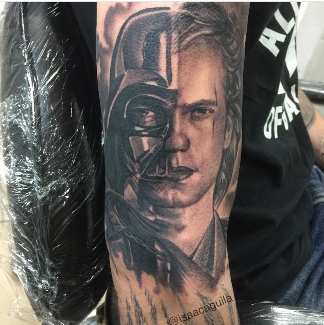 Anakin Skywalker Star Wars Tattoo With Images Cool Tattoos