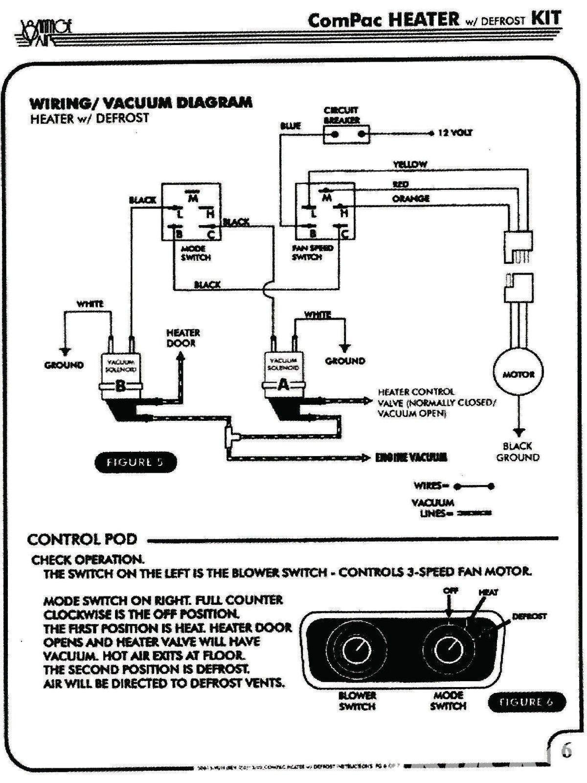 Vintage Air Wiring Diagrams In 2020 Vintage Air Diagram Wire