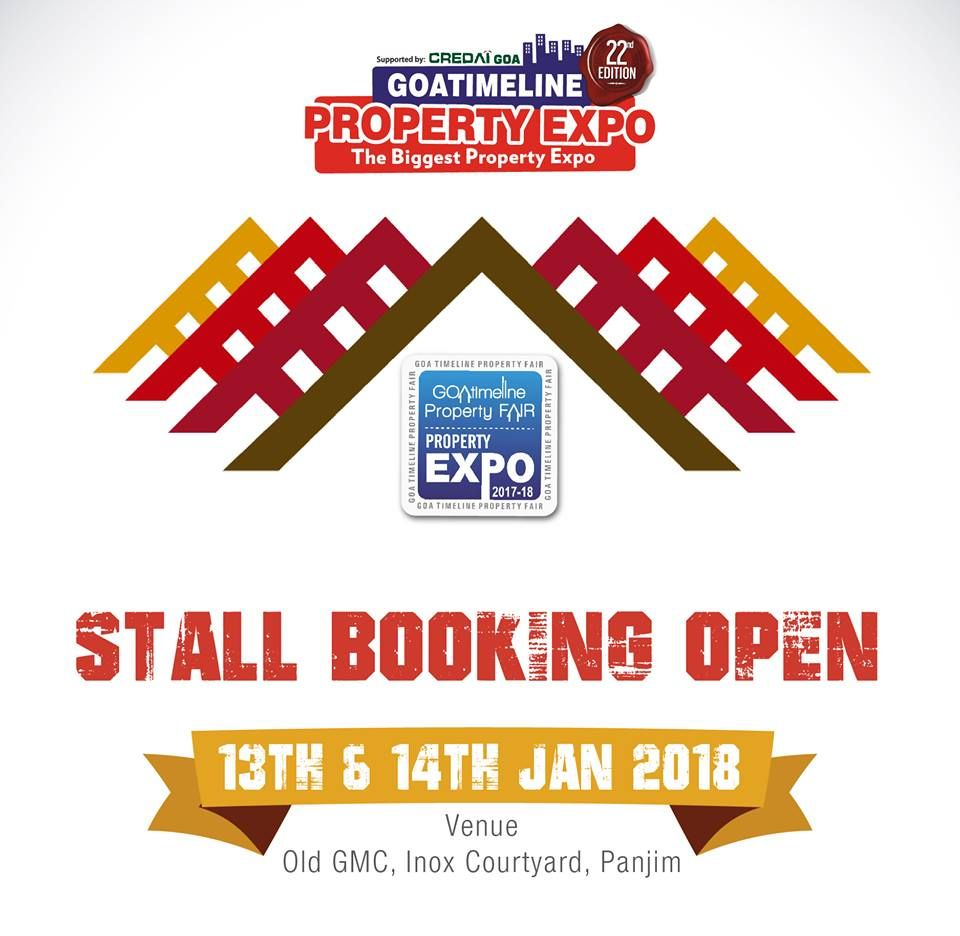 We Are All Set To Embark On The 22nd Edition Of The Goa Property Expo Call 9822200034 To Book A Stall Now Goapropertyexpo Realestate Lettering Goa Expo