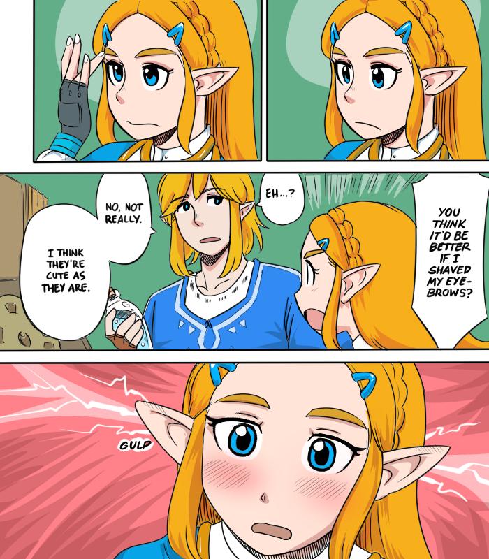 Zeldas Eyebrow Issue The Legend Of Zelda Legend Of Zelda